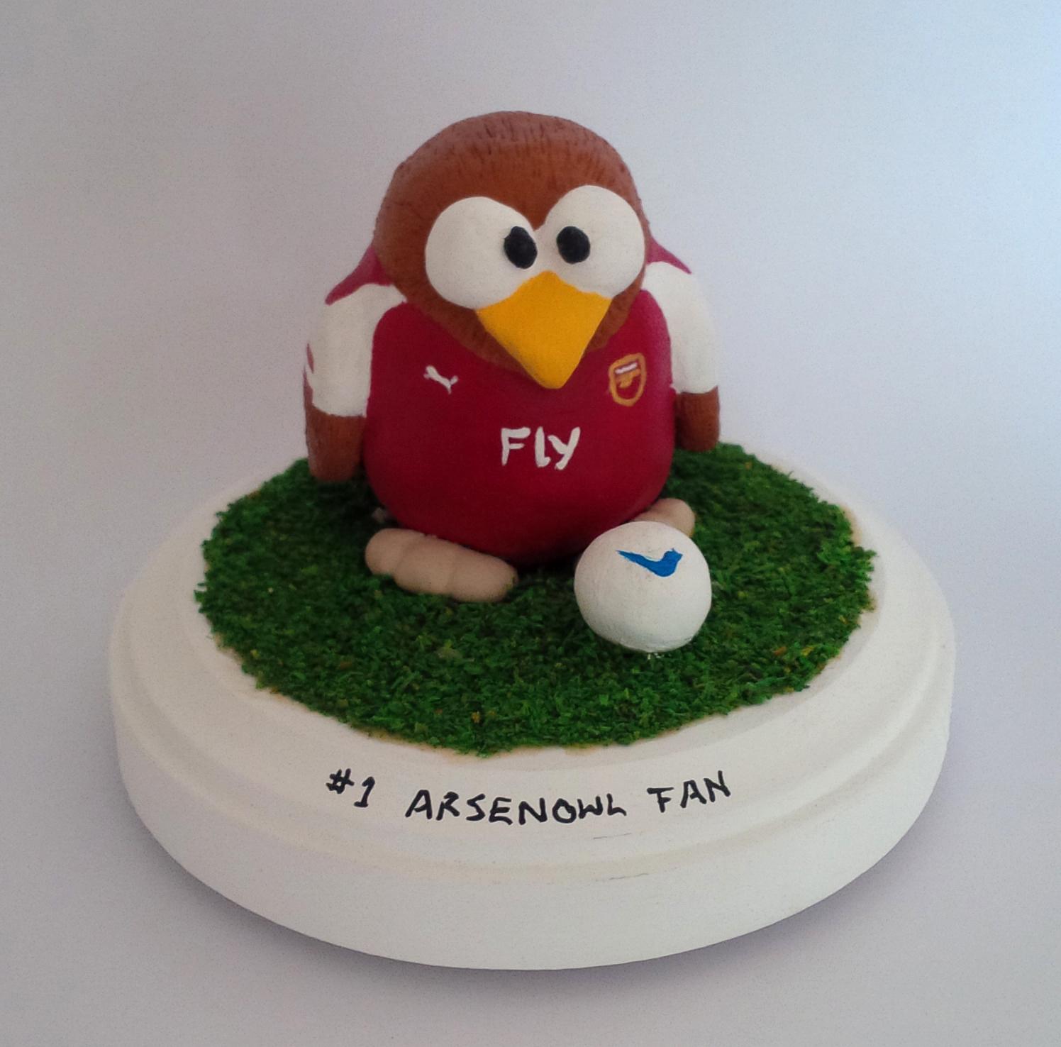 Arsenal Football Owl