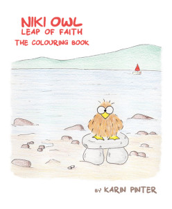 niki owl coloring book for adults