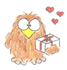 Niki Owl gift of love