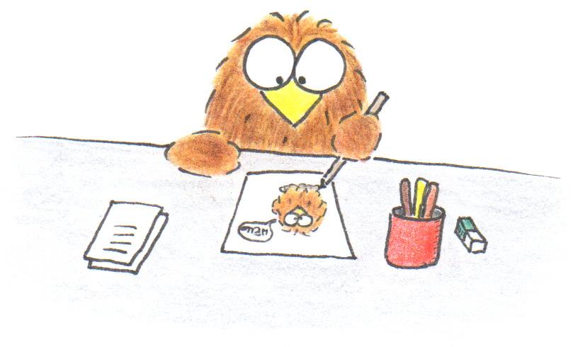 handmade owl cards step 3