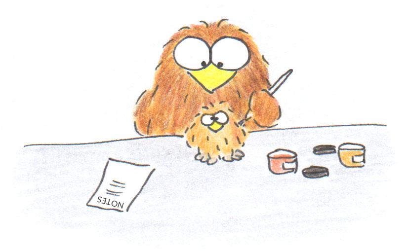 handmade owl gift step 3