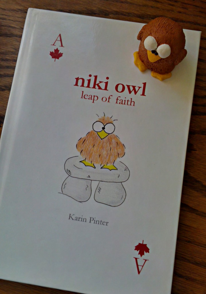 The First Niki Owl Book is Published