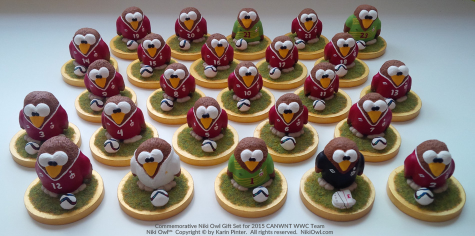 canwnt niki owl full set