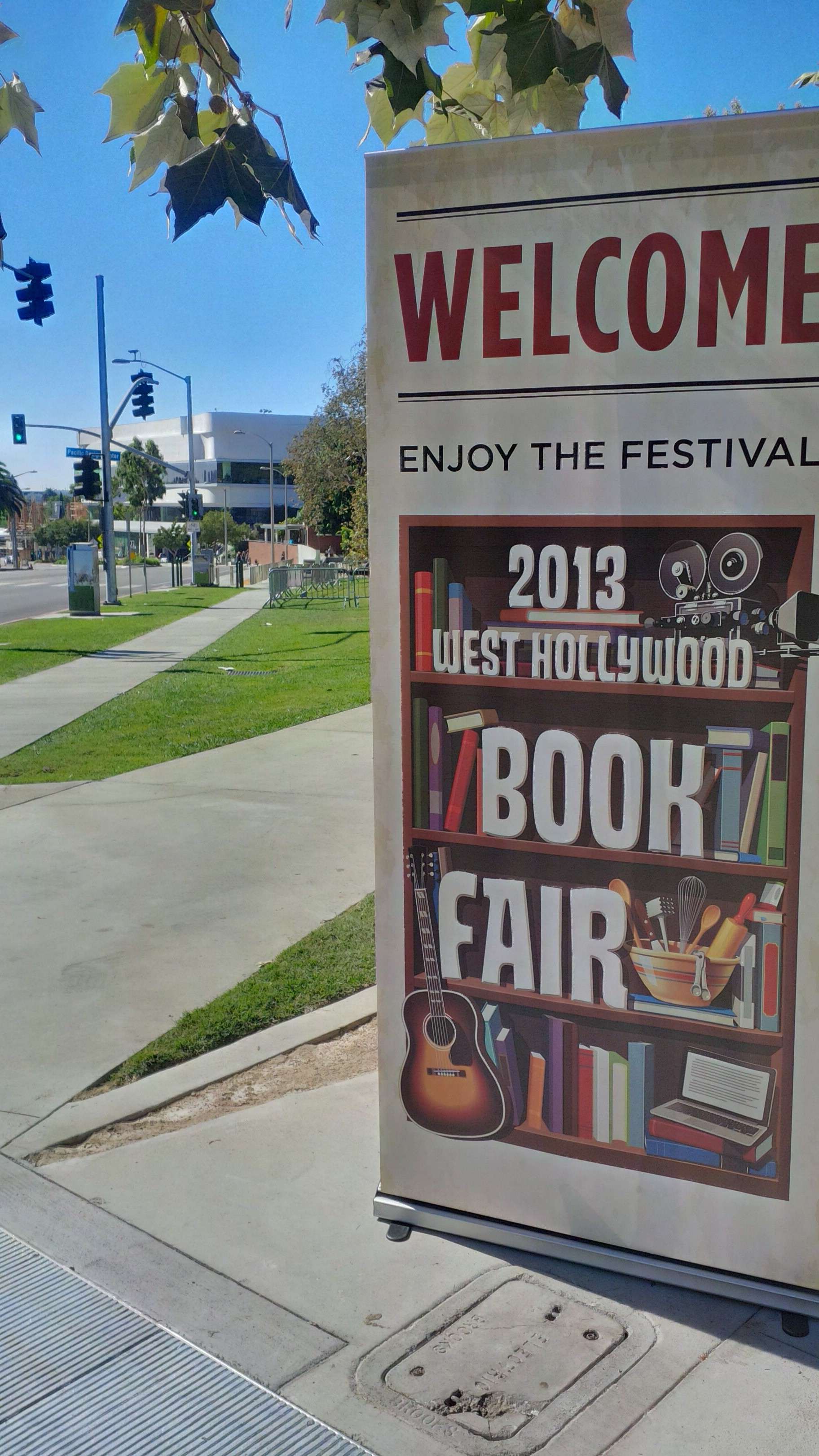West Hollywood Book Fair (or is that OWLywood?)