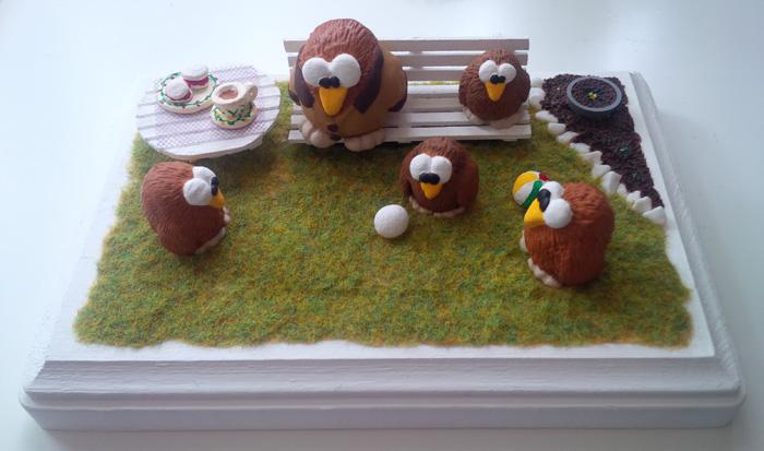 A Niki Owl English Tea Party