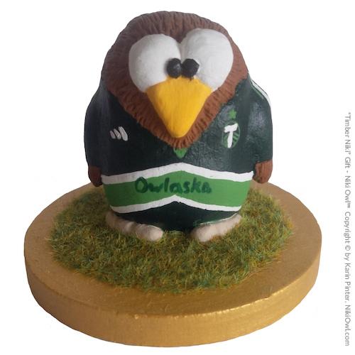 Regalo futbolista Niki Owl Portland Timbers