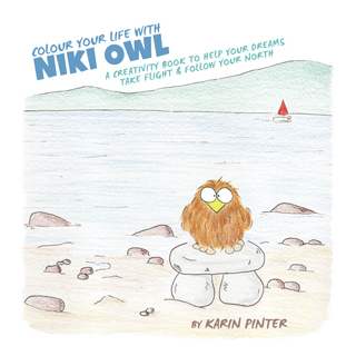 niki owl creativity book for adults