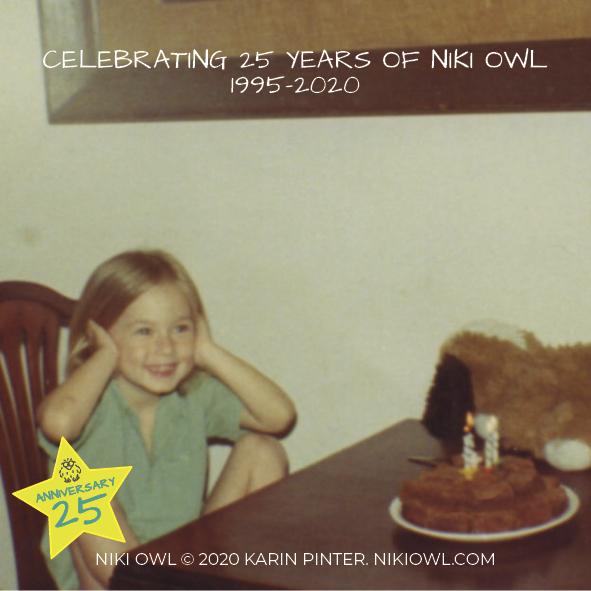 25th Anniversary: Day 9, It's Karin's Birthday!